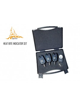 Set Avertizor Electronic Cu Telecomanda Heat