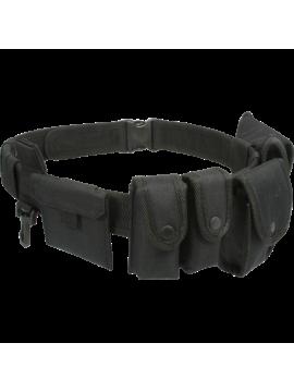 Curea tactica Viper Security, cu deschidere rapida, buzunare multiple, 100% poliester, 127 cm, negru