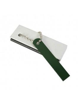 Amnar cu magneziu Mil-Com, 7.6 x 2.5 cm, alb/verde