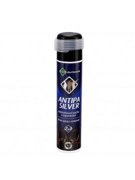 Spray antibacterian si odorizant 2 in 1 pentru incaltaminte For, cu ioni de argint si ulei de portocale, 2 capete pentru pulverizare normala si prin furtun de 1 m, cu cap rotativ de 360°, 200 ml