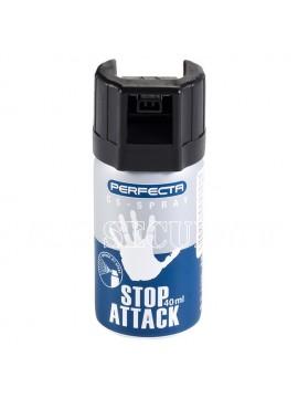 Spray paralizant lacrimogen Stop Attack Perfecta CS